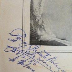 Libros de segunda mano: DESNUDA EL ALMA (VERSOS). GILDA MARÍN. DEDICATORIA AUTOGRAFA DE LA AUTORA.. Lote 38033714