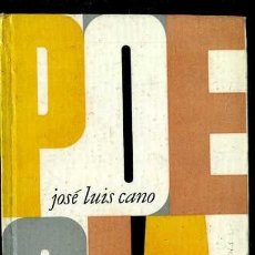 Libros de segunda mano: JOSÉ LUIS CANO : POESÍA (PLAZA JANÉS, 1964) 1ª EDICIÓN. Lote 38331015