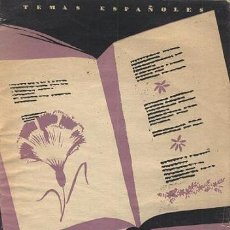 Libros de segunda mano: 6 POETAS CONTEMPORÁNEOS (TEMAS ESPAÑOLES Nº 31). Lote 38411268