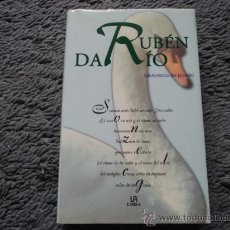 Libros de segunda mano: RUBEN DARIO ANTOLOGIA BIBLIOTECA DE POESIA LIBSA 2001. Lote 38508004