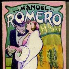 Libros de segunda mano: MANUEL ROMERO : CANCIONERO (LA MUSA MALEVA, TORRES AGÜERO, 1978). Lote 38934185