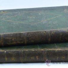 Libros de segunda mano: DON QUIJOTE DE LA MANCHA, 2 VOL. AÑO 1859, BARCELONA T. GORCHS ED. 33Z45,5 CM.. Lote 38951918