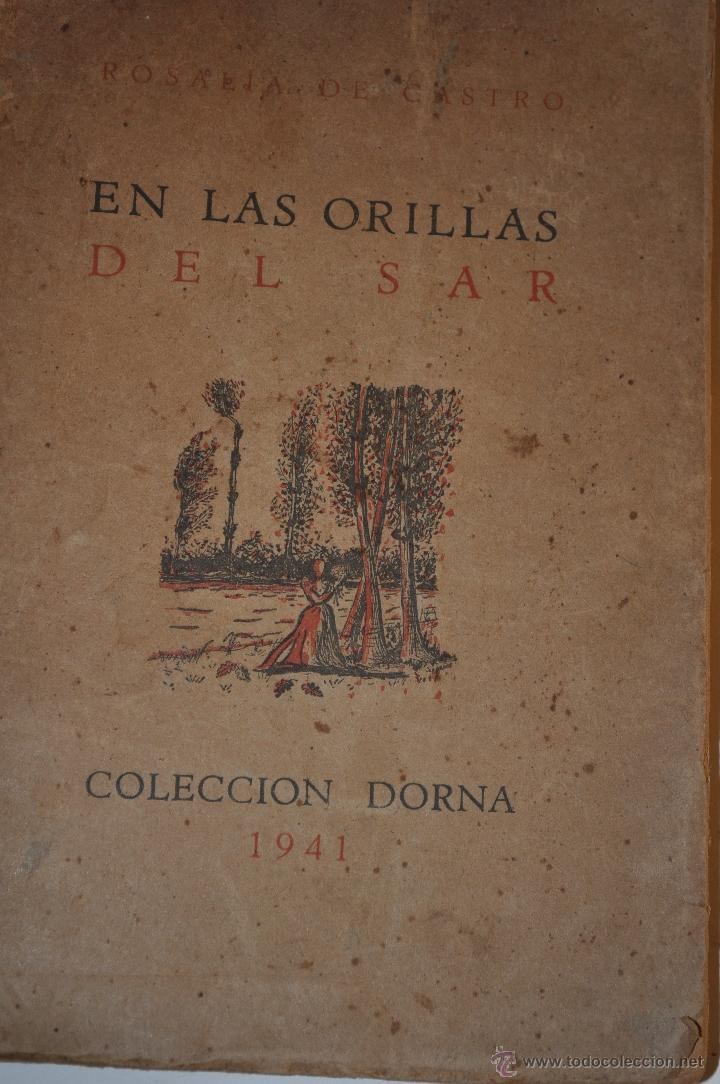EN LAS ORILLAS DEL SAR. ROSALÍA DE CASTRO RM63408-V (Libros de Segunda Mano (posteriores a 1936) - Literatura - Poesía)