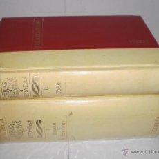 Libros de segunda mano: OBRAS SELECTAS, INEDITAS Y VEDADAS. TOMOS I Y II. JOSE MARIA PEMAN. 1972. Lote 40036746