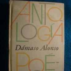 Libros de segunda mano: DAMASO ALONSO: - ANTOLOGIA POETICA - (BARCELONA, 1980). Lote 41314618