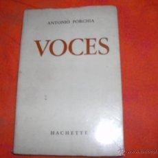 Libros de segunda mano: ANTONIO PORCHIA. Lote 41446123