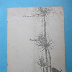 Libros de segunda mano: JOSE ANTONIO GOMEZ MARIN. POEMAS. 1958. Lote 42400479