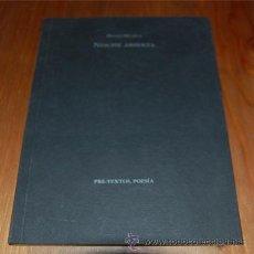 Libros de segunda mano: NOCHE ABIERTA. HUGO MÚJICA. Lote 42572179