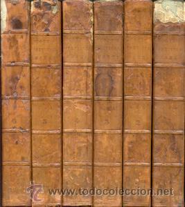 WALTER SCOTT – THE POETICAL WORKS – 6 VOL- AÑO 1839 (Libros de Segunda Mano (posteriores a 1936) - Literatura - Poesía)