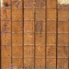 Libros de segunda mano: WALTER SCOTT – THE POETICAL WORKS – 6 VOL- AÑO 1839. Lote 42601792
