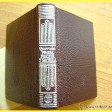 Libros de segunda mano: CRISOLÍN 42 FRANCISCO DE QUEVEDO, PROSA FESTIVA Y SATÍRICA, 1979, 1ª ED.. Lote 42647462