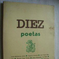 Libros de segunda mano: DIEZ POETAS. 1974. AGRUPACION LITERARIA AMIGOS DE LA POESIA. Lote 42851981