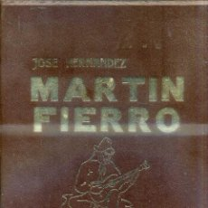 Libros de segunda mano: JOSÉ HERNÁNDEZ : MARTÍN FIERRO (INST. SALESIANO, 1972) GRAN FORMATO. ILUSTRACIONES DE MONTICELLI. Lote 43054247