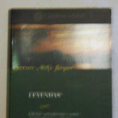 """Libros de segunda mano: GUSTAVO ADOLFO BECQUER """"RIMAS Y LEYENDAS"""".. Lote 43372561"""