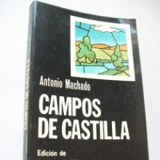 Libros de segunda mano: CAMPOS DE CASTILLA-ANTONIO MACHADO-1974-CÁTEDRA-EDICIÓN DE JOSÉ LUIS CANO. Lote 43815412