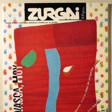 Libros de segunda mano: ZURGAI. POETAS POR SU PUEBLO. DICIEMBRE 1991. POESIA VASCA, HOY ((REVISTA)). Lote 29461966