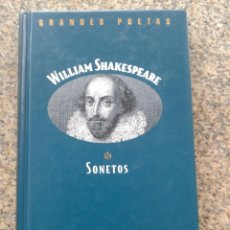 Libros de segunda mano: GRANDES POETAS -- WILLIAM SHAKESPEARE -- SONETOS -- EDICIONES ORBIS --. Lote 44311337