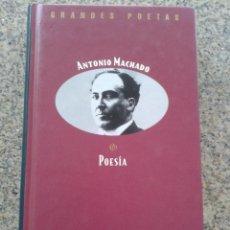 Libros de segunda mano: GRANDES POETAS -- ANTONIO MACHADO -- POESIA -- EDICIONES ORBIS --. Lote 44316139