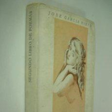 Libros de segunda mano: JOSE GARCIA NIETO SEGUNDO LIBRO DE POEMAS. IMP. AFRODISIO AGUADO, 1ª ED. 1951.. Lote 44394512