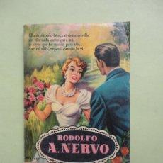 Libros de segunda mano: RODOLFO NERVO. SUS MEJORES POESÍAS. Lote 44788967