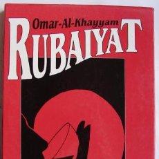 Libros de segunda mano: RUBAIYAT - AL- KHAYYAM, OMAR. Lote 45218753