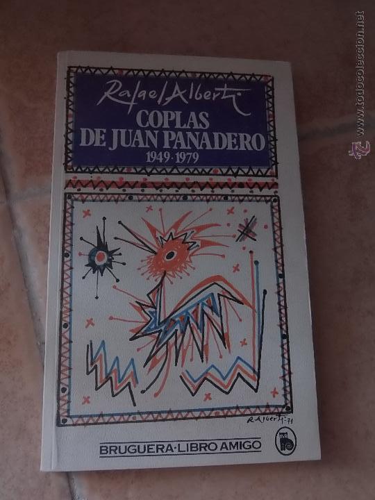 Coplas De Juan Panadero 1949 1979 Rafael Alberti