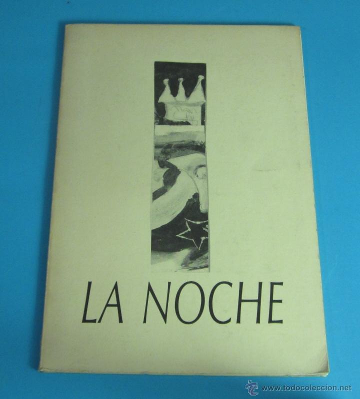 LA NOCHE. POEMAS: KEVIN POWER. ILUSTRACIONES: JAIME GIMÉNEZ DE HARO (Libros de Segunda Mano (posteriores a 1936) - Literatura - Poesía)