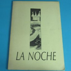Libros de segunda mano: LA NOCHE. POEMAS: KEVIN POWER. ILUSTRACIONES: JAIME GIMÉNEZ DE HARO. Lote 45643585