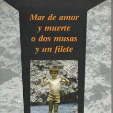 Libros de segunda mano: LIBRO Nº 3 JUAN ANGULO MAR DE AMOR Y MUERTE O DOS MUSAS Y UN FILETE POESIA SANTANDER CANTABRIA. Lote 87323938