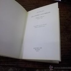 Libros de segunda mano: 880.- JOSE BERGAMIN-DEL OTOÑO Y LOS MIRLOS-EDITORIAL RM. Lote 45734685