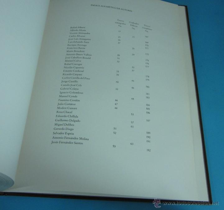 Libros de segunda mano: CANTO A LA PAZ. PRESTIGIOSOS AUTORES DE LAS LETRAS Y LAS ARTES DE HABLA HISPANA. - Foto 4 - 133306155