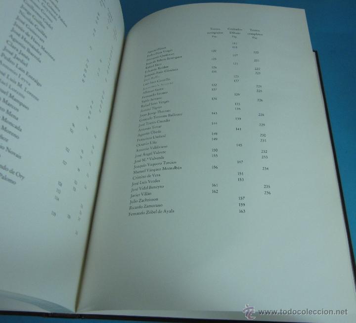 Libros de segunda mano: CANTO A LA PAZ. PRESTIGIOSOS AUTORES DE LAS LETRAS Y LAS ARTES DE HABLA HISPANA. - Foto 5 - 133306155