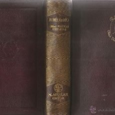 Libros de segunda mano: RUBÉN DARÍO. OBRAS POÉTICAS COMPLETAS. RM67051. . Lote 46149625