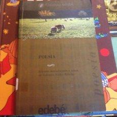 Libros de segunda mano: POESÍA EDICIÓN INTRODUCCION Y NOTAS DE VALENTIN NUÑEZ RIBERA. Lote 46432364