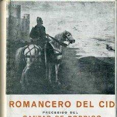 Libros de segunda mano: GUARNER : ROMANCERO DEL CID / CANTAR DE RODRIGO (MIÑÓN, 1954). Lote 46915811