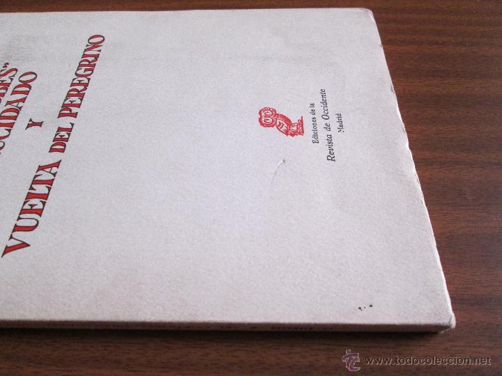 """Libros de segunda mano: """"El Cordobés"""" dilucidado y Vuelta del peregrino --- Gerardo Diego - Foto 4 - 47239851"""