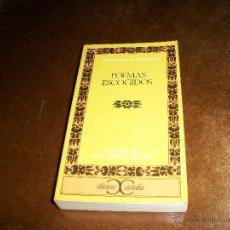Libros de segunda mano: POEMAS ESCOGIDOS.. Lote 47252354