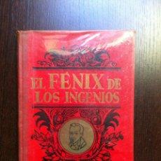 Libros de segunda mano: EL FENIX DE LOS INGENIOS - LOPE DE VEGA CARPIO - DALMAU CARLES - MADRID - 1944 - . Lote 47396802