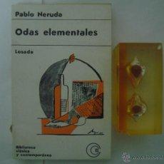 Libros de segunda mano - PABLO NERUDA. ODAS ELEMENTALES. EDITORIAL LOSADA 1967 - 47615787