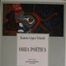Libros de segunda mano - Lopez Velarde, Ramon / Obra poetica - 48226432