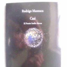 Libros de segunda mano: CASI. MANZUCO, RODRIGO. 2013. Lote 48429631