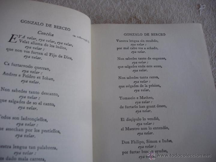 Libros de segunda mano: The Oxford Book of sapnish verse 1942 - Poesía, de la edad media al S. XX. en español - Foto 6 - 48654506