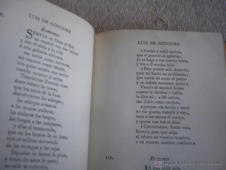 Libros de segunda mano: The Oxford Book of sapnish verse 1942 - Poesía, de la edad media al S. XX. en español - Foto 7 - 48654506