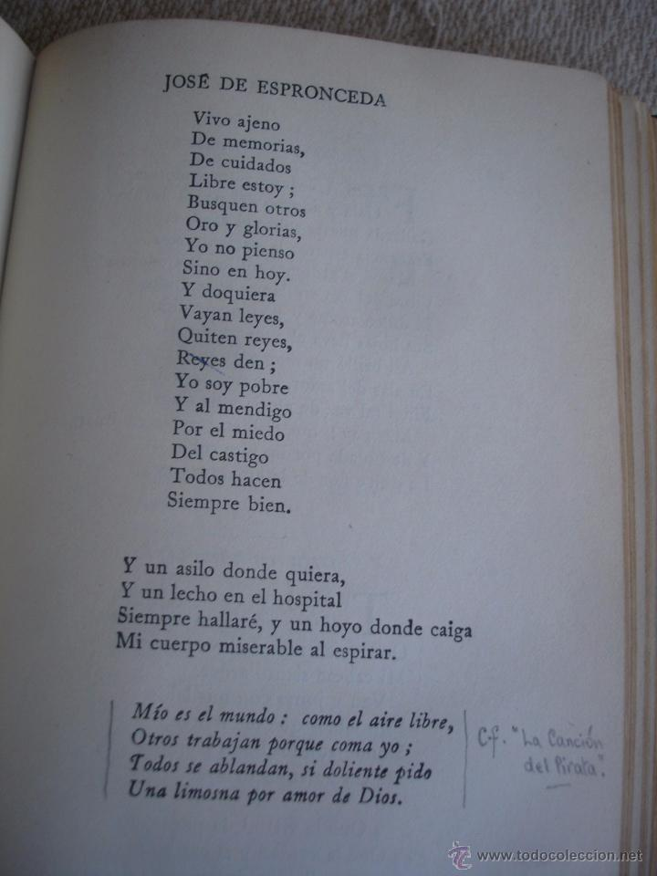 Libros de segunda mano: The Oxford Book of sapnish verse 1942 - Poesía, de la edad media al S. XX. en español - Foto 9 - 48654506