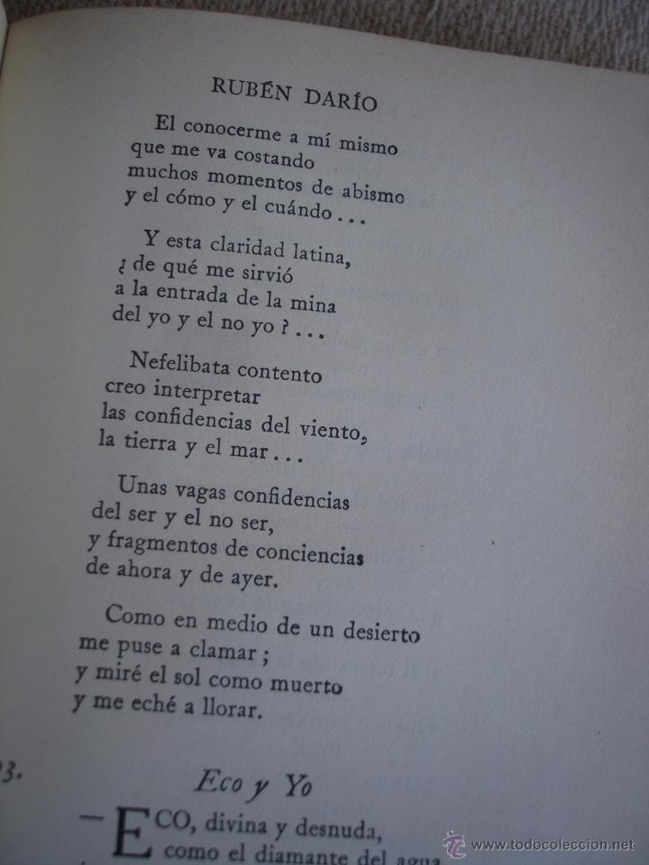 Libros de segunda mano: The Oxford Book of sapnish verse 1942 - Poesía, de la edad media al S. XX. en español - Foto 10 - 48654506