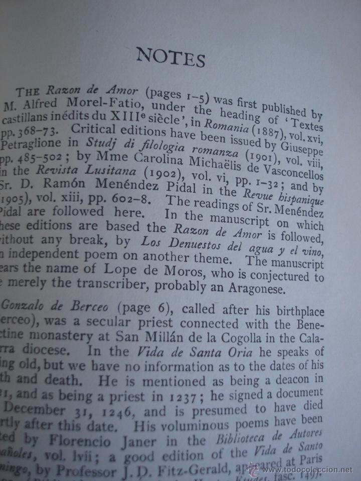 Libros de segunda mano: The Oxford Book of sapnish verse 1942 - Poesía, de la edad media al S. XX. en español - Foto 13 - 48654506