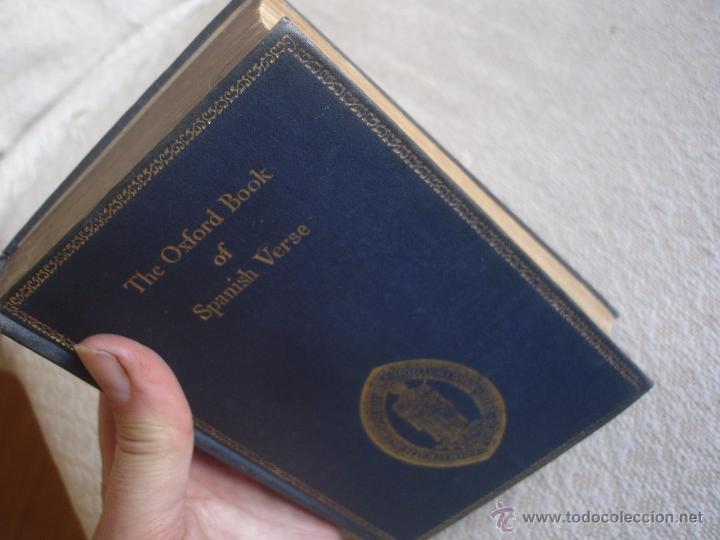 Libros de segunda mano: The Oxford Book of sapnish verse 1942 - Poesía, de la edad media al S. XX. en español - Foto 16 - 48654506