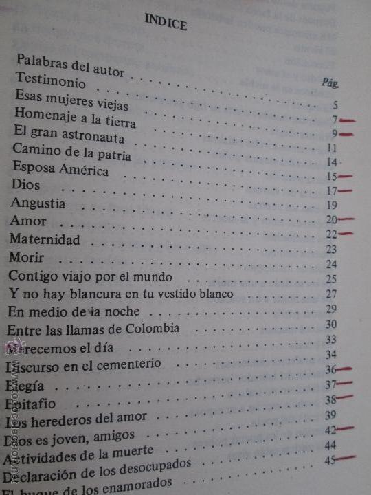 Libros de segunda mano: CARLOS CASTRO SAAVEDRA. POEMAS ESCOGIDOS 1946 - 1974. - Foto 10 - 48936325