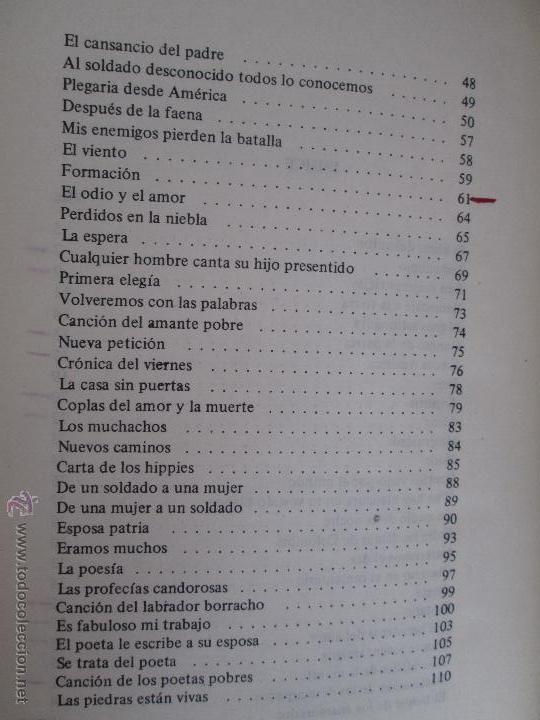 Libros de segunda mano: CARLOS CASTRO SAAVEDRA. POEMAS ESCOGIDOS 1946 - 1974. - Foto 11 - 48936325