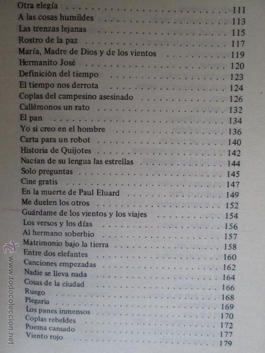 Libros de segunda mano: CARLOS CASTRO SAAVEDRA. POEMAS ESCOGIDOS 1946 - 1974. - Foto 12 - 48936325